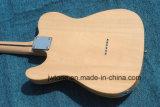 Le tilleul à travers le corps de chaîne Fen Tele guitare électrique