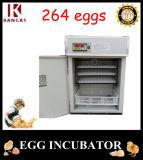 Meilleure vente couveuse pour poules pour 264 oeufs automatique