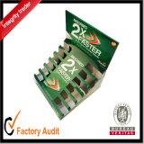 Kundenspezifische Großhandelsqualitäts-weißer gewölbter Papierkasten, Schaukarton, verpackenkasten (LP029)