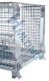 Высокопроизводительный промышленный наращиваемые проволочной сетки для хранения контейнеров