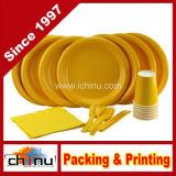 Обед Plates, Cutlery, Napkins и Cups (220003)