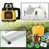 Niveau de laser rotatif auto-nivelant de haute précision (SRE-2010G)