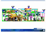 Beifall Amusement 20140613-020-M-2 Kids Soft Play Indoor Playground Equipment