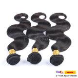 Großhandels8a unverarbeitete Remy Menschenhaar-Jungfrau-brasilianische Haar-Extension