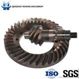 BS5007 6/37 나선형 비스듬한 기어는 주문 후방 드라이브 차축 차 트럭 나선 비스듬한 기어일 수 있다