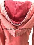 Queimar o Sportswear vermelho de Hoody da oxidação para a menina com flor