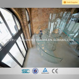 Stairs를 위한 5mm+1.41mmpvb+5mm Curved Laminated Glass