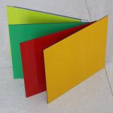 Обе стороны цвет алюминиевых композитных панелей для раздела с помощью