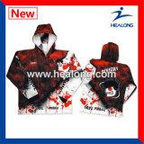 Износ спорта трикотажных изделий рубашек рыболовства сублимации изготовленный на заказ