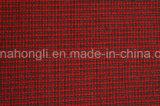 Os fios Tingidos Poli/tecido de Rayon, Pequenas Plaid, 230gsm