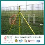 ISOによって証明されるヨーロッパの様式の鉄条網か、または金網の溶接されたヨーロッパの塀