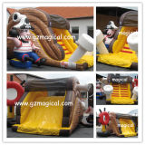 Beaucoup Fun Inflatable Fish Water Slide pour Water Pool (MIC-081)