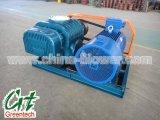 Sistema de transporte neumático de presión móvil