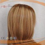 De charmante Pruik van het Menselijke Haar van de Kleur (pPG-l-0338)