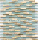 Mini Size Glass Mosaic Mixture Tile pour Wall Use (MB0016)