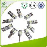 Lampadina senza errori di Canbus LED dell'indicatore luminoso dell'automobile di T10 5SMD