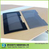 Verre trempé coloré gris de qualité supérieure de 4 mm pour machine à laver