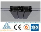 Profil en aluminium appliqué rapide de mur rideau d'approvisionnement d'usine