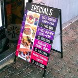 24 X 36 a Cadres en acier et panneaux sandwichs Panneaux d'affiches Planche de plomb en plein air Double graphique Support publicitaire d'affichage publicitaire