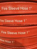 Tuyau de douille du feu avec l'impression de logo