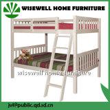ホワイトパインの木製の現代流行の子供の二段ベッド(WJZ-B91)