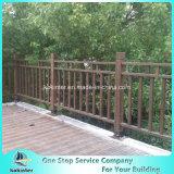 대나무 Decking 옥외 물가에 의하여 길쌈되는 무거운 대나무 마루 별장 룸 2