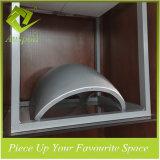 Panneau de mur décoratif personnalisé par aluminium d'onde