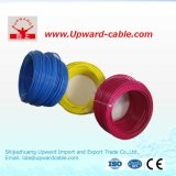 Alambre eléctrico del PVC H05VV-F del acoplamiento aprobado del aislante del VDE