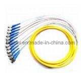 FC/Upc 12 estrae la parte centrale dalla treccia ottica della fibra di 0.9mm