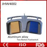 Footswitch блока Electrosurcial кнопки алюминия 2 медицинского оборудования