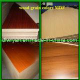 Panneau en MDF à base de mélamine et de couleur solide et en bois