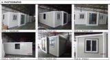 Camera prefabbricata mobile pieghevole del contenitore
