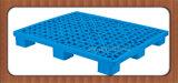 Warehouse를 위한 1200*1000*135mm Stackable Grid Nine Feet Plastic Storage Pallet