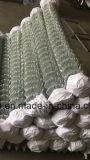 Frontière de sécurité de maillon de chaîne/maille galvanisées de diamant enduites par zinc d'usine