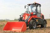 Het Merk van Everun de Landbouw MiniLader van 1.2 Ton met Motor Euroiii