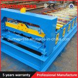 機械を形作る1080のステップタイル屋根ロール