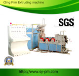 Sj-45*2 Ruian Sanyuan Brand Stretch Film와 Cling Twin Screw Extruder Film Blowing Machine Set