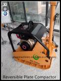 Pers van de Plaat van de concrete Vibrator de Omkeerbare met Wiel gyp-160