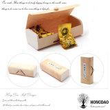Hongdao 경첩을 단 뚜껑 _E를 가진 도매 미완성 나무로 되는 티백 수송용 포장 상자
