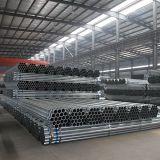 BS galvanizadas Standard Threaded Pipe com Coupling e Caps Factory em China
