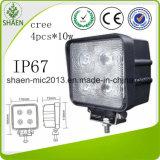 Lámpara del trabajo del CREE 40W ATV LED de la alta calidad