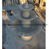 Fontana di acqua di pietra beige della scultura (SY- F002)