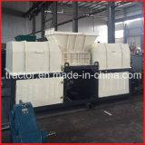 Les arbres de Double/canettes en aluminium des déchets d'Extrusion/bars/plaques/Profil/concasseur de feuilles de la machine