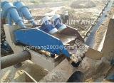 La arena fina recicla la máquina