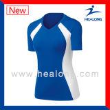 Volleyball bon marché Jersey de chemise de sport de vêtements de sport des prix de Healong pour les hommes