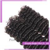 Het Onverwerkte Maagdelijke Menselijke diep Krullende Haar van 100%