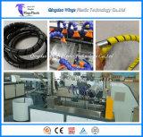 Protector espiral del manguito del PA de los PP del PE/protector espiral que hace la máquina