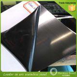 Feuilles d'acier inoxydable de fini de délié de Balck fabriquées en Chine
