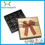 عامة علامة تجاريّة يطبع ورقيّة قلب شكل شوكولاطة يعبّئ صندوق مع فرجارالتقسيم ورقيّة
