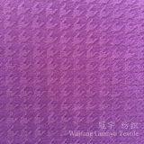 Le tissu 100% de textile à la maison de polyester a gravé le velours en relief pour des couvertures de Beabags